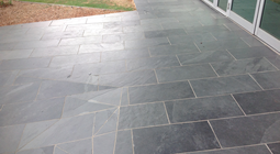 Slate Tile Path Restoration